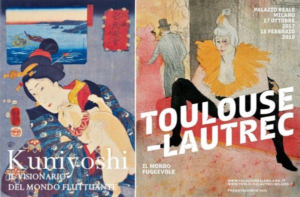 Grandi mostre di arte a Milano:Kuniyoshi a La Permanente e Toulouse-Lautrec a Palazzo Reale