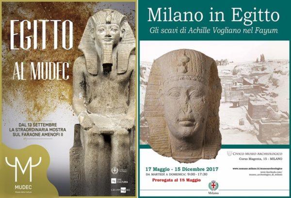 Grandi mostre di arte a Milano: L'antico Egitto è protagonista al Mudec e al Museo Archeologico