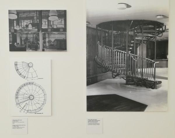 La mostra Il territorio dell'architettura - Gregotti e Associati, Negozio Tadini Lambertenghi, 1955-56, Novara © Federica Musto