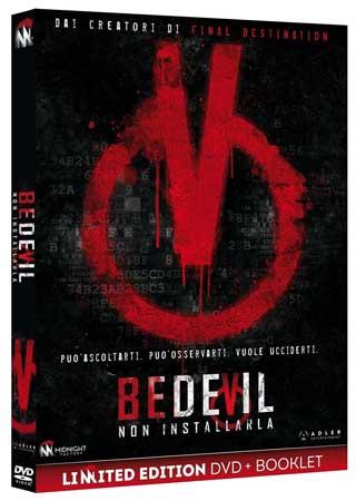 la cover del DVD del film Bedevil