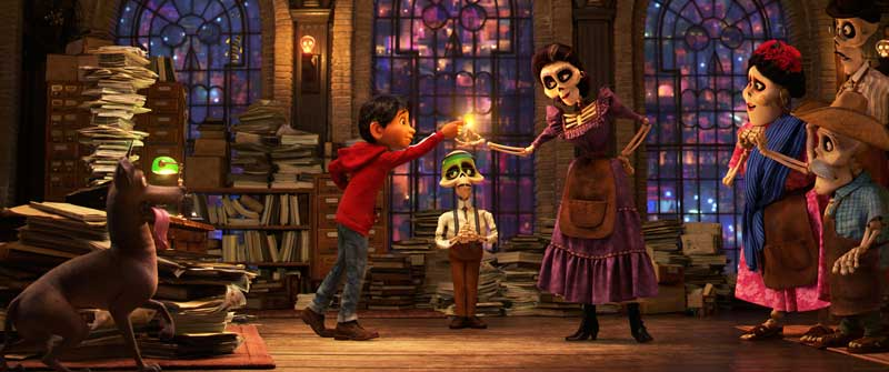 Un'immagine del film di animazione Coco - Photo: courtesy of The Walt Disney Company Italia