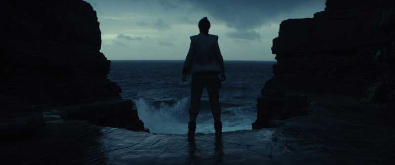 una scena del film Star Wars: Gli Ultimi Jedi - Photo: courtesy of The Walt Disney Company Italia