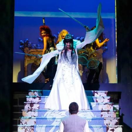 Lorella Cuccarini nel musical La Regina di Ghiaccio © Musacchio, Ianniello & Pasqualini