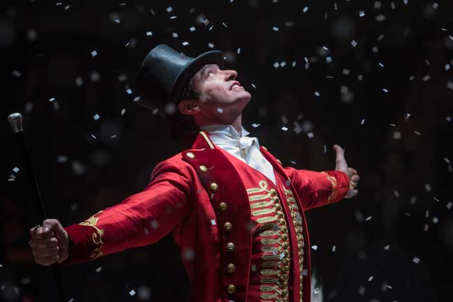 Hugh Jackman in una scena del film The greatest Showman - Photo: courtesy of 20th Century Fox Italia