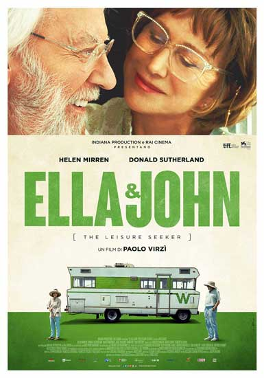 la locandina italiana del film Ella & John - The Leisure Seeker