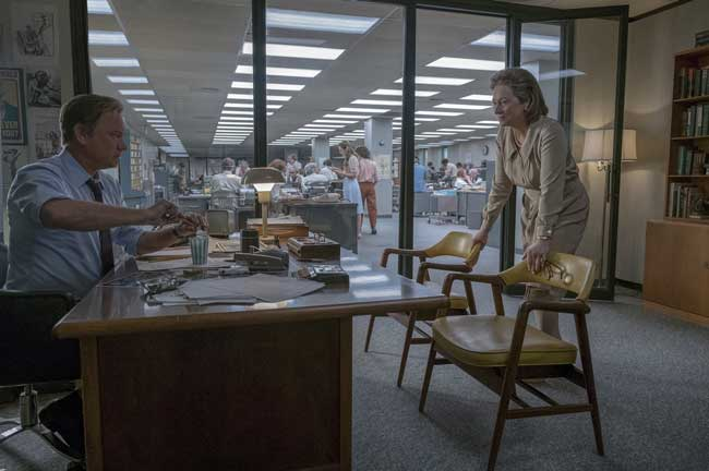 Tom Hanks e Meryl Streep nel film The Post - Photo: courtesy of 01 Distribution