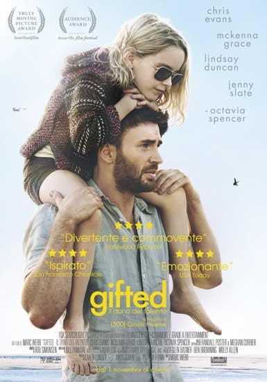 la locandina italiana del film Gifted