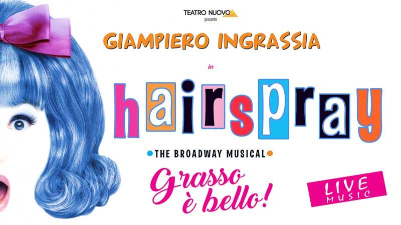 la locandina del musical Hairspray