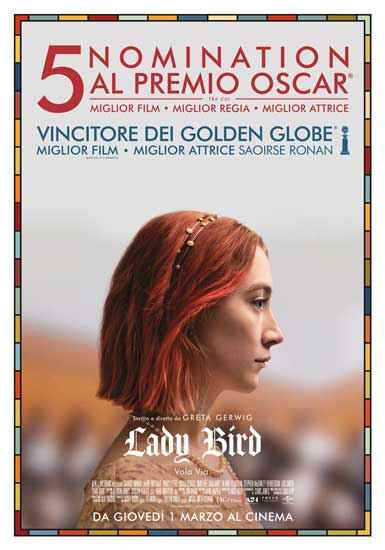 il poster del film Lady Bird