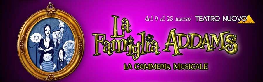 il musical la famiglia addams al teatro nuovo di milano