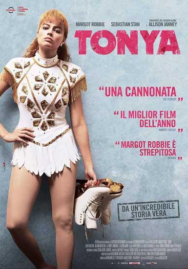 la locandina italiana del film Tonya
