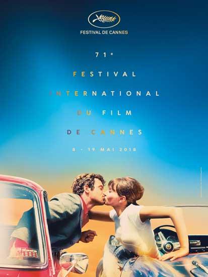 il poster ufficiale del festival de cannes 2018