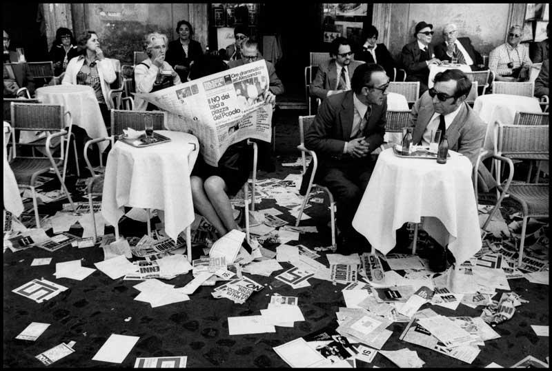 Leonard Freed, Roma, maggio 1974 - Photo Leonard Freed / Magnum Photos