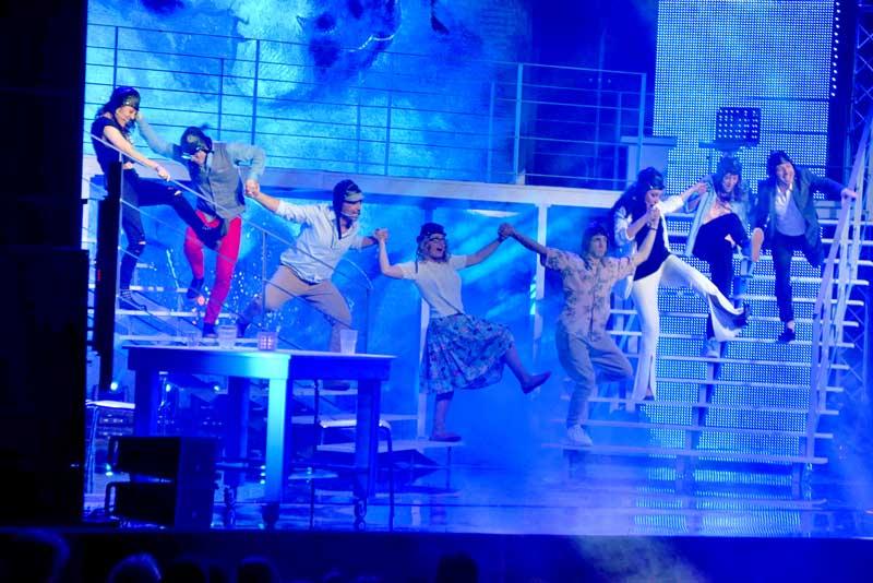 un'immagine della prima serata di Sanremo Musical al Teatro Nuovo di Milano - ph ufficio stampa