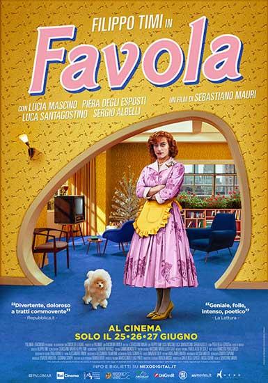 il poster del film Favola con Filippo Timi
