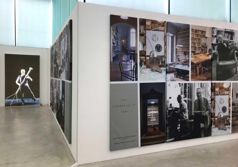 uno scorcio della sala del m.a.x. museo dedicata allo studio di Achille Castiglioni - Photo by MaSeDomani