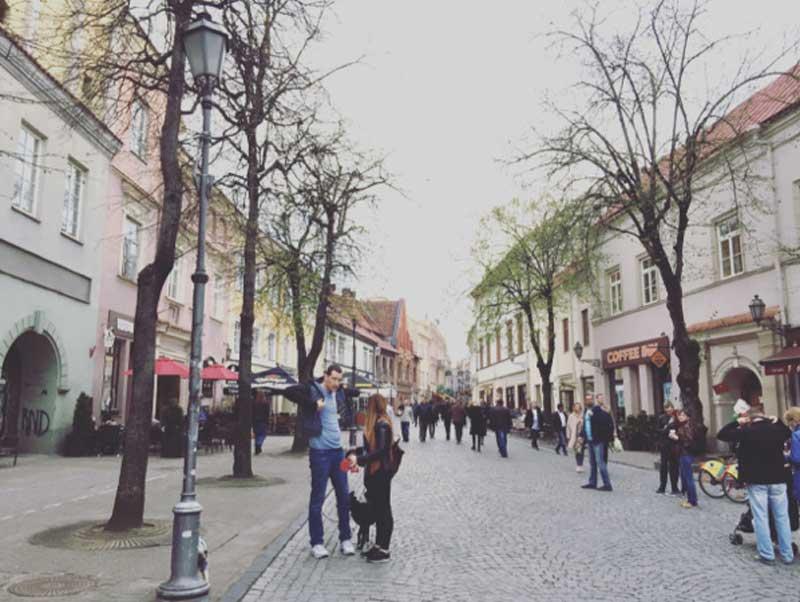 Pilies Street a Vilnius - Photo © Anna Falciasecca