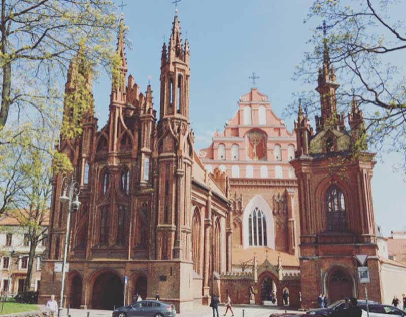 La chiesa di Sant'Anna a Vilnius - Photo by Anna Falciasecca