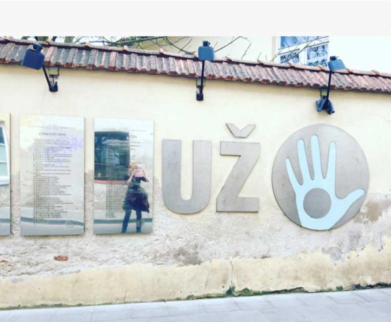 La Costituzione della Repubblica di Uzupis - Photo by Anna Falciasecca