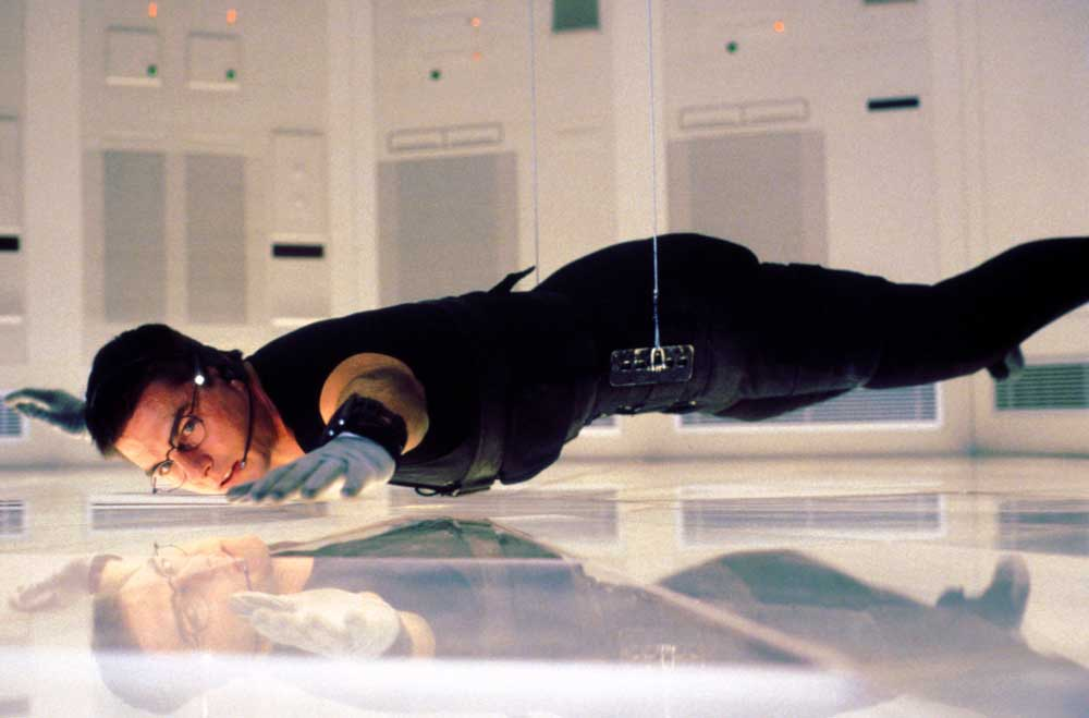 Tom Cruise in una scena di Mission Impossible - Photo: courtesy of Universal Pictures Home Entertainment
