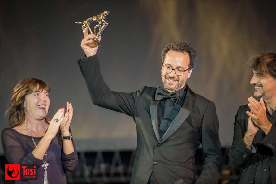Carlo Chatrian riceve il Pardo - Tosi Photography