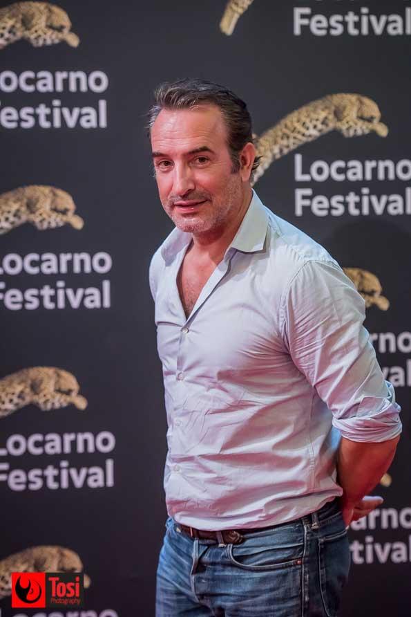 Jean Dujardin sul red carpet di Locarno 71 - Tosi Photography