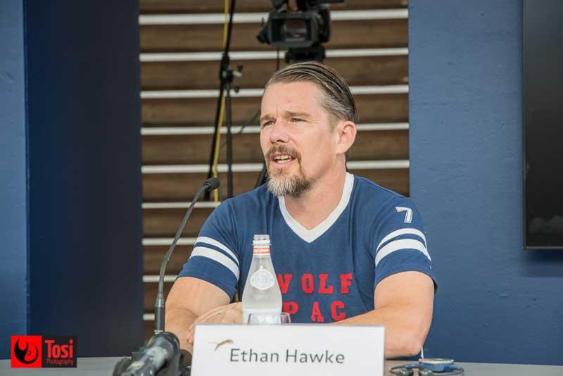 Ethan Hawke parla col pubblico del Locarno Festival del film Blaze - Tosi Photography