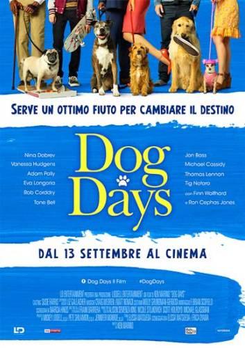 la locandina italiana dl film Dog Days