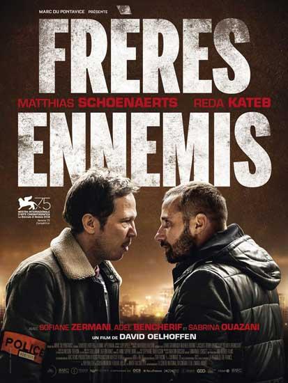 il poster del film Frères Ennemis