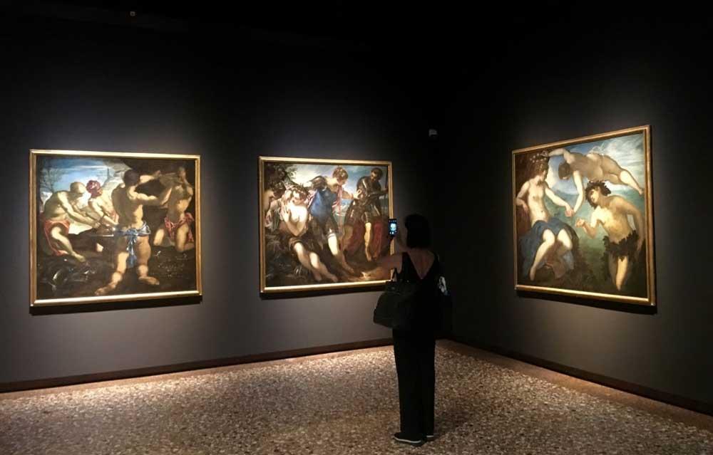 Tintoretto a Palazzo Ducale: allestimento - Photo by MaSeDomani