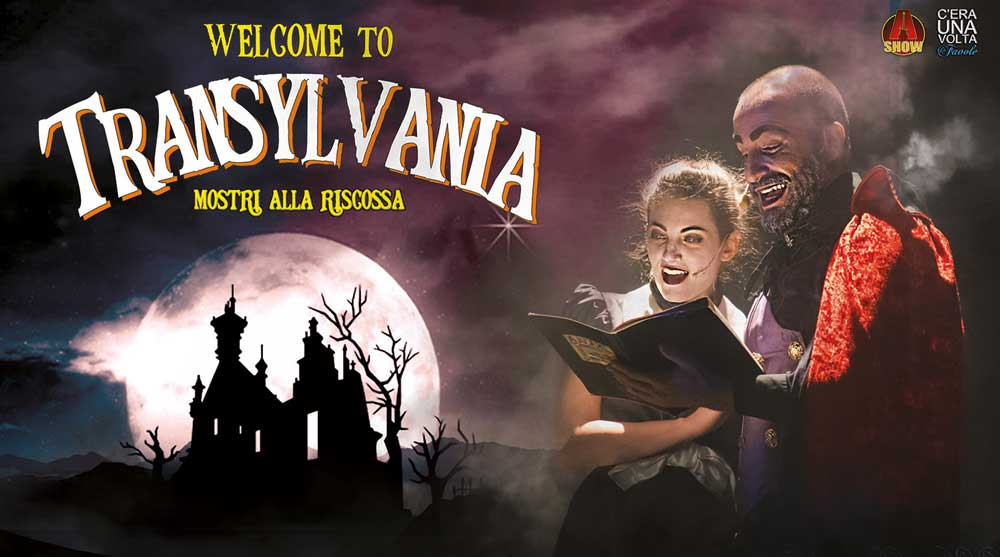 Welcome to Transylvania poster