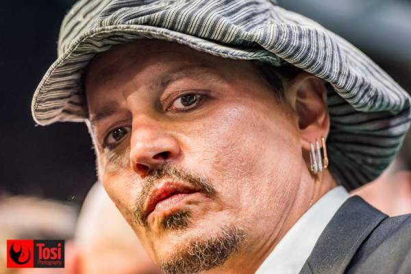 Johnny Depp - Tosi Photography