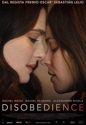 disobedience poster film