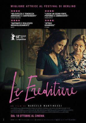 la locandina italiana del film Le Ereditiere