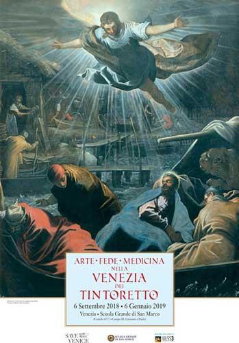 mostre di Tintoretto a Venezia: Arte, fede e medicina - poster