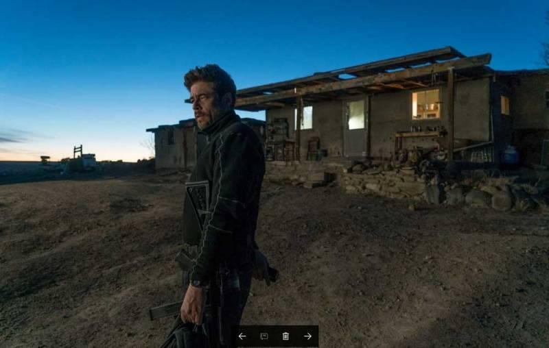 Benicio del Toro in Soldado - Photo: courtesy of 01 Distribution