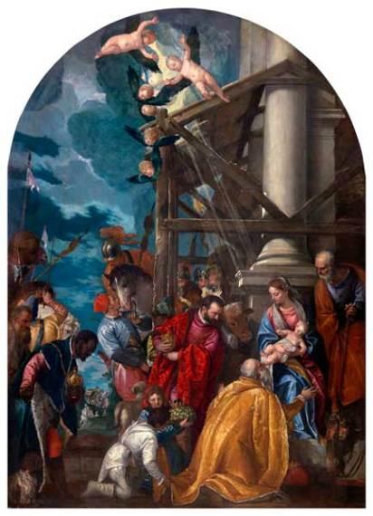 Adorazione dei Magi di Paolo Veronese