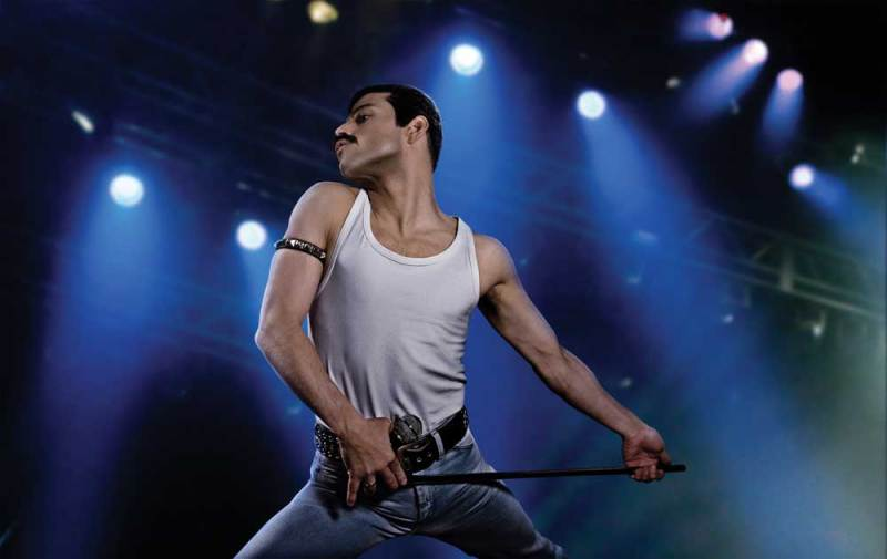 Rami Malek in una scena del film Bohemian Rhapsody - Photo: courtesy of 20th Century Fox