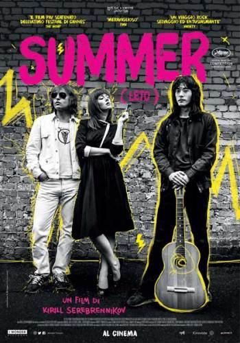 la locandina italiana del film Summer (Leto)