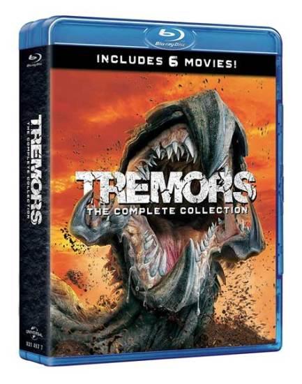 la cover di Tremors - La Collezione Completa (6 blu ray)