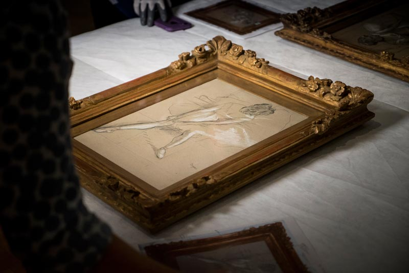 DEGAS Passione e Perfezione al Fitzwilliam Museum, Cambridge (c) EOS - David Bickerstaff