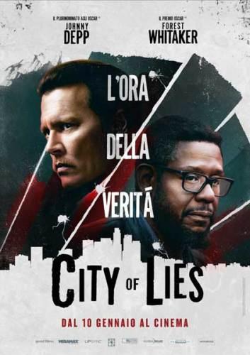 la locandina italiana del film City of lies