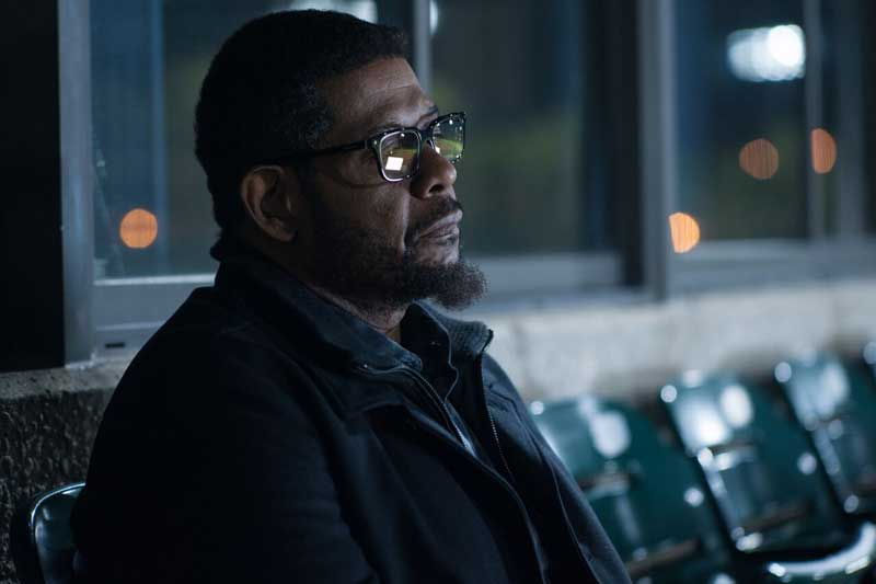 Forest Whitaker in una scena del film City of lies - Photo: courtesy of Notorious Pictures