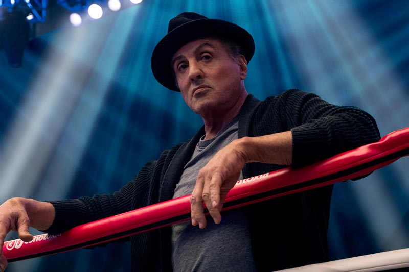 Sylvester Stallone è Rocky Balboa in CREED II - Photo: Barry Wetche