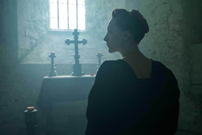 Saoirse Ronan in una scena del film Maria Regina di Scozia - Photo © 2018 FOCUS FEATURES LLC. ALL RIGHTS RESERVED