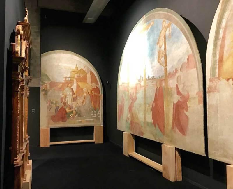 Il Rinascimento nelle terre ticinesi 2: Francesco De Tatti, affreschi di Santa Croce, Gazzada Schianno (VA) - Foto: MaSeDomani