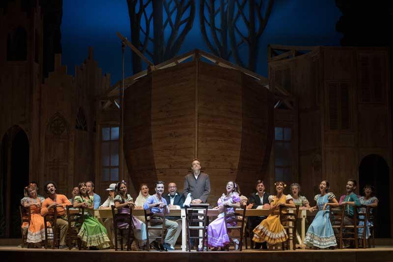 Il musical Aggiungi un posto a tavola - Foto: Tommaso Le Pera