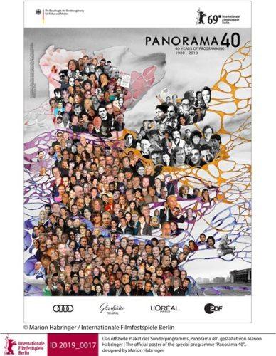il poster della sezione Panorama 40 - Artwork: Marion Habringer