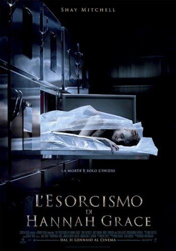 La locandina italiana del film L'esorcismo di Hannah Grace