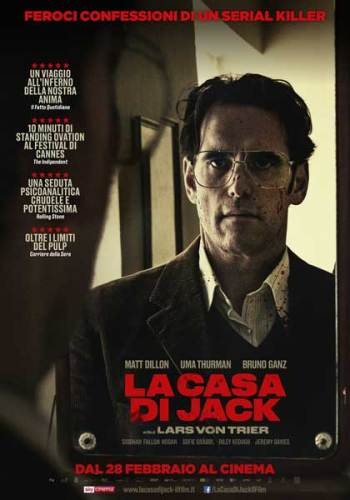 La Casa di Jack poster film